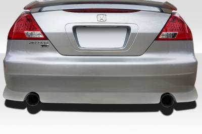 Extreme Dimensions - Honda Accord 2DR Duraflex V-Speed Rear Bumper Cover - 1 Piece - 100436
