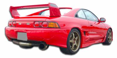 Extreme Dimensions 16 - Toyota MR2 Duraflex Type T Rear Bumper Cover - 1 Piece - 101045