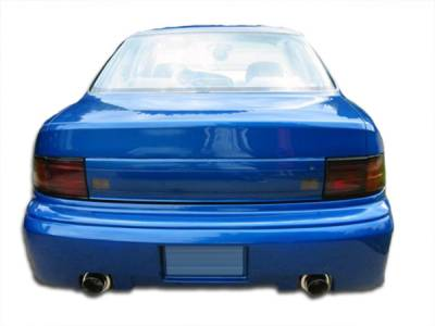 Extreme Dimensions 16 - Toyota Camry Duraflex Swift Rear Bumper Cover - 1 Piece - 101208