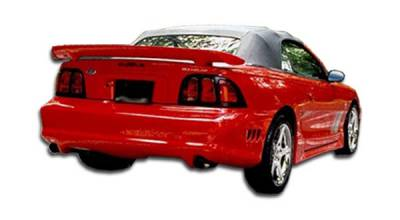 Extreme Dimensions 16 - Ford Mustang Duraflex Colt Rear Bumper Cover - 1 Piece - 101435
