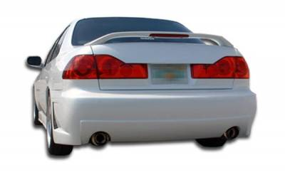 Extreme Dimensions 16 - Honda Accord 4DR Duraflex B-2 Rear Bumper Cover - 1 Piece - 101978