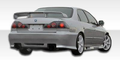 Extreme Dimensions 16 - Honda Accord 4DR Duraflex Spyder Rear Bumper Cover - 1 Piece - 101985