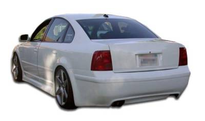 Volkswagen Passat Duraflex RS Look Rear Bumper Cover - 1 Piece - 102050