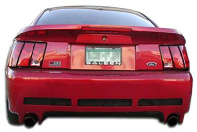 Extreme Dimensions 16 - Ford Mustang Duraflex Colt Rear Bumper Cover - 1 Piece - 102079
