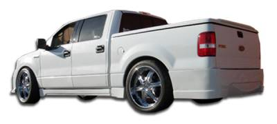 Ford F150 Duraflex Platinum Rear Bumper Cover - 1 Piece - 102262