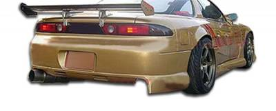 Extreme Dimensions 16 - Mitsubishi 3000GT Duraflex Fighter Rear Bumper Cover - 1 Piece - 102337