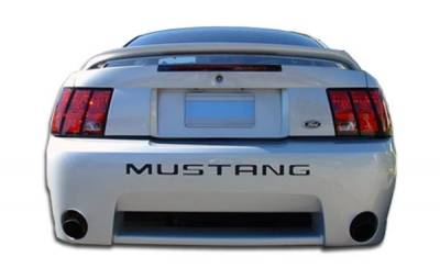 Extreme Dimensions 16 - Ford Mustang Duraflex KR-S Rear Bumper Cover - 1 Piece - 102479