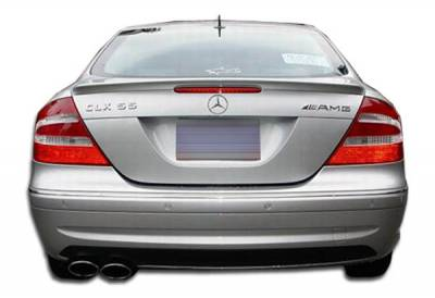 Extreme Dimensions 16 - Mercedes-Benz CLK Duraflex AMG Look Rear Bumper Cover - 1 Piece - 103087