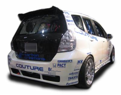 Honda Fit Couture Couture GD-R Rear Bumper Cover - 1 Piece - 103237