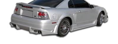 Extreme Dimensions 16 - Ford Mustang Duraflex Bomber Rear Bumper Cover - 1 Piece - 103274