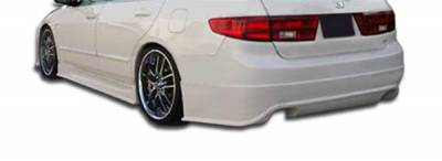 Extreme Dimensions 16 - Honda Accord 4DR Duraflex Sigma Rear Bumper Cover - 1 Piece - 103295