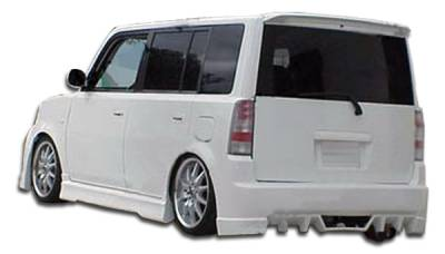 Extreme Dimensions 16 - Scion xB Duraflex Evo 5 Rear Bumper Cover - 1 Piece - 103317