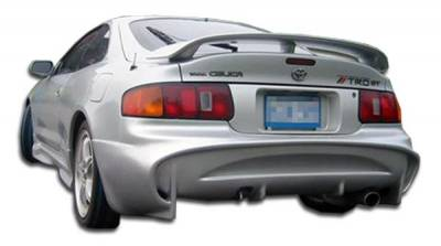 Extreme Dimensions 16 - Toyota Celica Duraflex Vader Rear Bumper Cover - 1 Piece - 103426