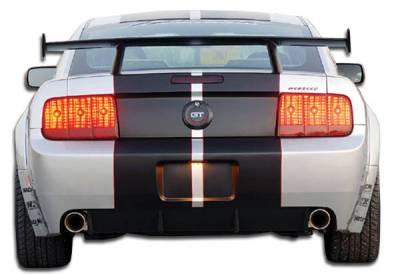 Extreme Dimensions 16 - Ford Mustang Duraflex GT500 Wide Body Rear Bumper Cover - 1 Piece - 104911