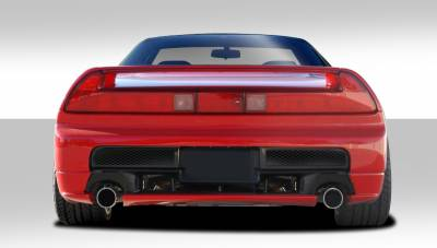 Extreme Dimensions 16 - Acura NSX Duraflex GT Competition Rear Bumper Cover - 1 Piece - 105256