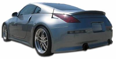 Extreme Dimensions 16 - Nissan 350Z Duraflex V-Speed Rear Bumper Cover - 1 Piece - 105648