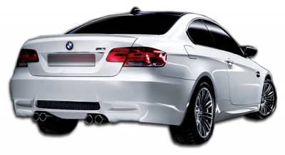 BMW 3 Series 2DR Duraflex M3 Look Rear Bumper Cover - 1 Piece - 106900
