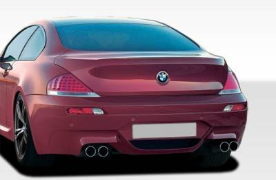 Extreme Dimensions 16 - BMW 6 Series Duraflex M6 Look Rear Bumper Cover - 1 Piece - 107704