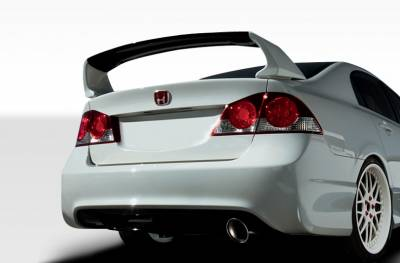 Honda Civic 4DR Duraflex JDM Type R Conversion Rear Bumper Cover - 2 Piece - 107738