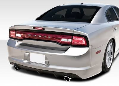 Extreme Dimensions 16 - Dodge Charger Duraflex SRT Look Rear Bumper Cover - 1 Piece - 108037