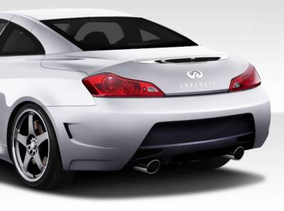 Infiniti G37 Duraflex Elite Rear Bumper Cover - 1 Piece - 108240
