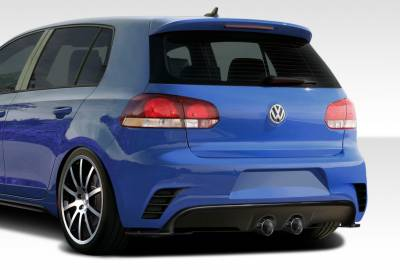 Volkswagen Golf GTI Duraflex RV-S Rear Bumper Cover - 1 Piece - 108294