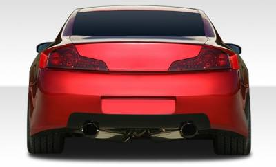 Extreme Dimensions 16 - Infiniti G35 2DR Duraflex GT500 Wide Body Rear Bumper Cover - 1 Piece - 108500