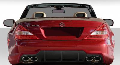 Sarona - Mercedes-Benz SL Duraflex SL65 Look Rear Bumper Cover - 1 Piece - 108779