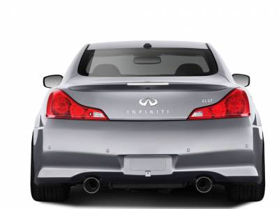 Infiniti G37 Duraflex IPL Look Rear Bumper Cover - 1 Piece - 108802