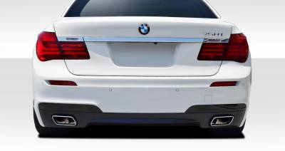 BMW 7 Series Duraflex M Sport Look Rear Bumper Cover - 1 Piece - 109438