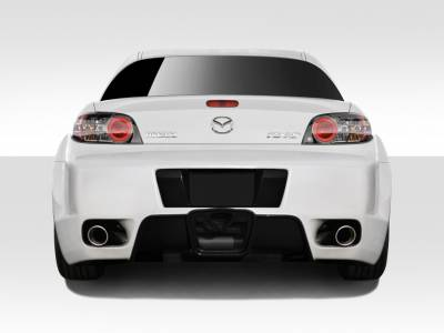 AIT Racing - Mazda RX-8 Duraflex K-1 Rear Bumper Cover - 1 Piece - 109488