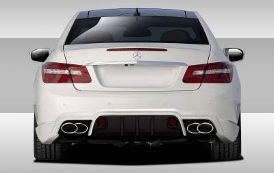 AA - Mercedes-Benz E Class Duraflex Duraflex Eros Version 2 Rear Bumper Cover - 1 Piece - 109633