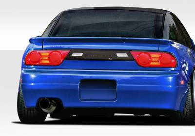 Extreme Dimensions 16 - Nissan 240SX HB Duraflex Supercool Rear Bumper Cover -1 Piece - 109978