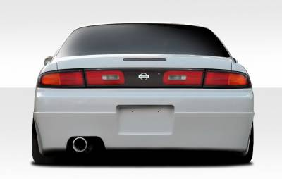 Duraflex - Nissan 240SX Duraflex Supercool Rear Bumper Cover - 1 Piece - 109990