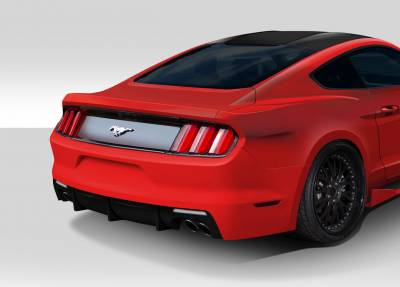 Extreme Dimensions 16 - Ford Mustang Duraflex Grid Rear Bumper Cover - 1 Piece - 112564