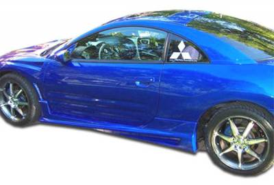 Extreme Dimensions 16 - Mitsubishi Eclipse Duraflex Bomber Side Skirts Rocker Panels - 2 Piece - 100117