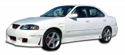 Extreme Dimensions 16 - Nissan Sentra Duraflex B-2 Side Skirts Rocker Panels - 2 Piece - 100147