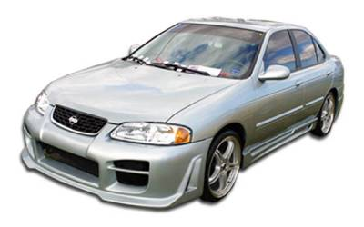 Extreme Dimensions 16 - Nissan Sentra Duraflex R34 Side Skirts Rocker Panels - 2 Piece - 100154