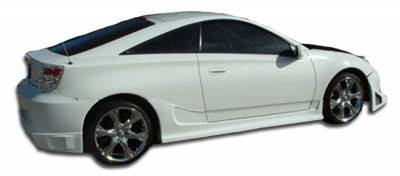 Extreme Dimensions 16 - Toyota Celica Duraflex Blits Side Skirts Rocker Panels - 2 Piece - 100174