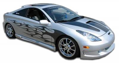 Extreme Dimensions 16 - Toyota Celica Duraflex Type K Side Skirts Rocker Panels - 2 Piece - 100191