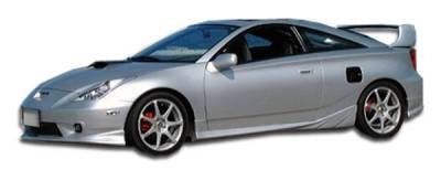 Extreme Dimensions 16 - Toyota Celica Duraflex TD3000 Side Skirts Rocker Panels - 2 Piece - 100196