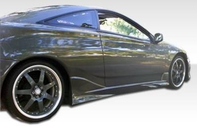 Extreme Dimensions 16 - Toyota Celica Duraflex Vader Side Skirts Rocker Panels - 2 Piece - 100203