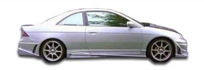 Extreme Dimensions 16 - Honda Civic 2DR Duraflex Bomber Side Skirts Rocker Panels - 2 Piece - 100231