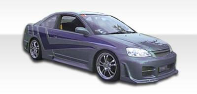 Extreme Dimensions 16 - Honda Civic 2DR Duraflex R34 Side Skirts Rocker Panels - 2 Piece - 100240