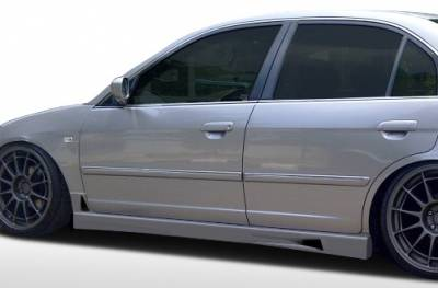 Extreme Dimensions 16 - Honda Civic 4DR Duraflex R34 Side Skirts Rocker Panels - 2 Piece - 100246