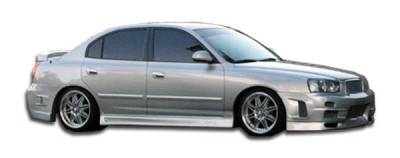 Extreme Dimensions 16 - Hyundai Elantra Duraflex Skyline Side Skirts Rocker Panels - 2 Piece - 100268