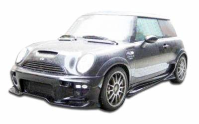 Duraflex - Mini Cooper Duraflex Vader Side Skirts Rocker Panels - 2 Piece - 100362