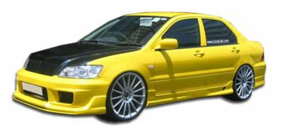 Duraflex - Mitsubishi Lancer Duraflex K-1 Side Skirts Rocker Panels - 2 Piece - 100368