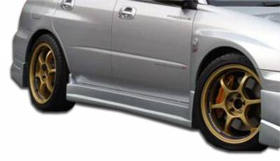 Extreme Dimensions 16 - Subaru WRX Duraflex C-Speed Side Skirts Rocker Panels - 2 Piece - 100391