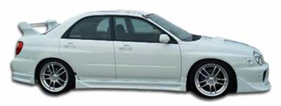 Extreme Dimensions 16 - Subaru WRX Duraflex C-1 Side Skirts Rocker Panels - 2 Piece - 100395